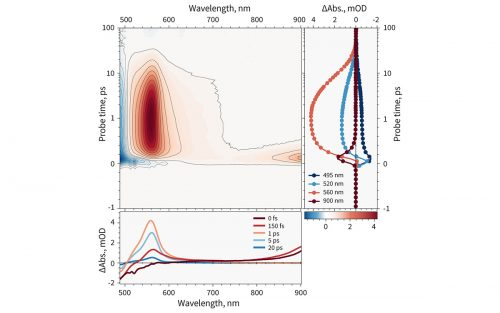 Spectral dynamics of beta-carotene in solution acquired using HARPIA-TA