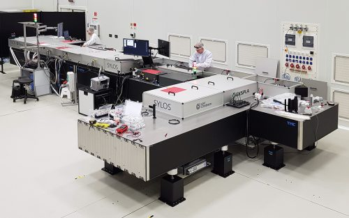 SYLOS has been launched in ELI-ALPS facility in Hungary on 15th of May, 2019